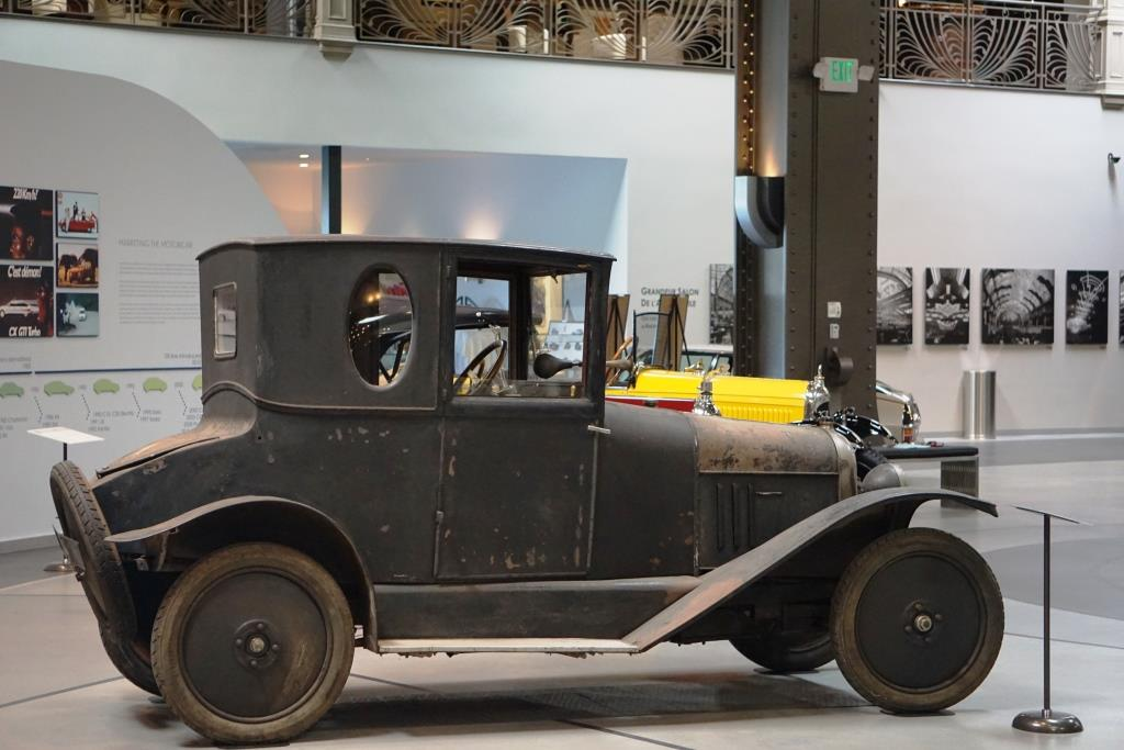 The first Citroën, the Type A, built in 1919.