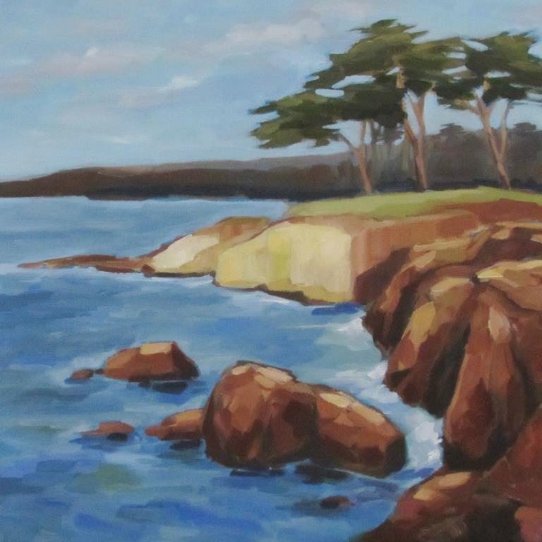 Monterey Coast, north view.