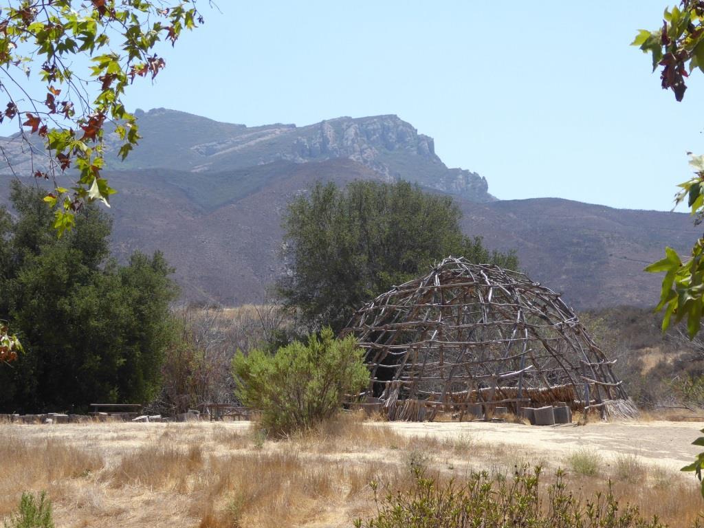 The Chumash home, or 'Ap, at Rancho Sierra Vista/Satwiwa.