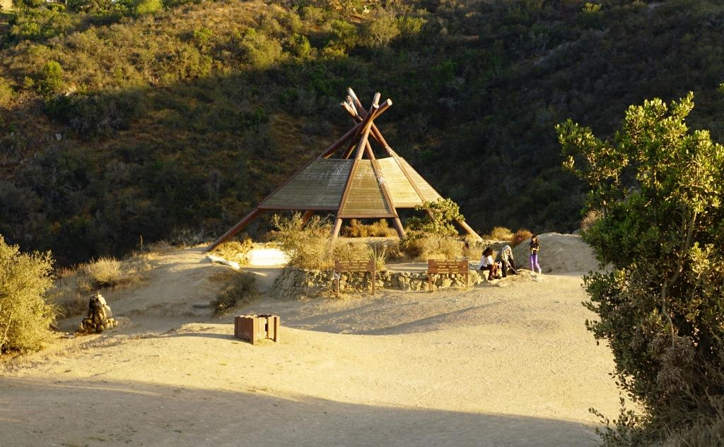 The teepee structure at   Wildwood Park in Thousand Oaks   is fun to hike to and sit under but is not something the Chumash Indians would ever have lived in.