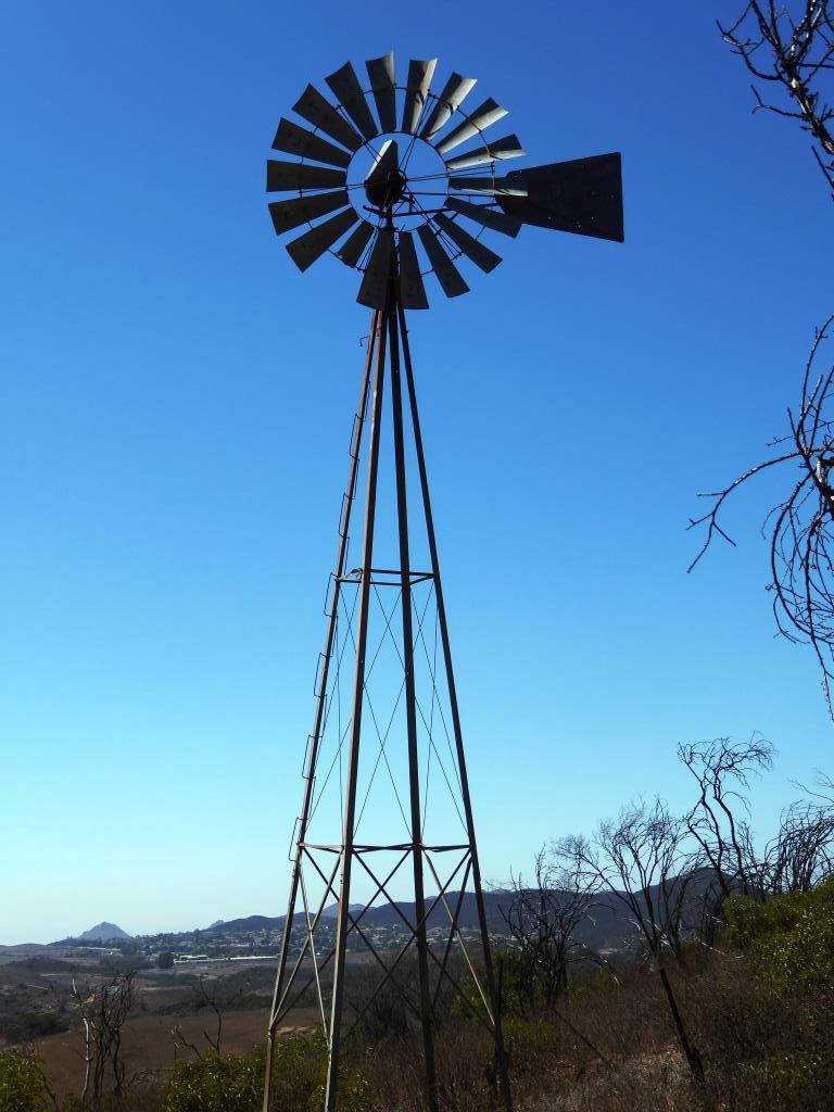 The Windmill in Rancho Sierra Vista/Satwiwa in September 2016.