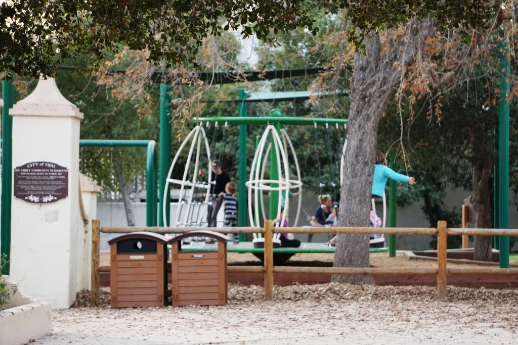 Quad Pod Spinner at Libbey Playground