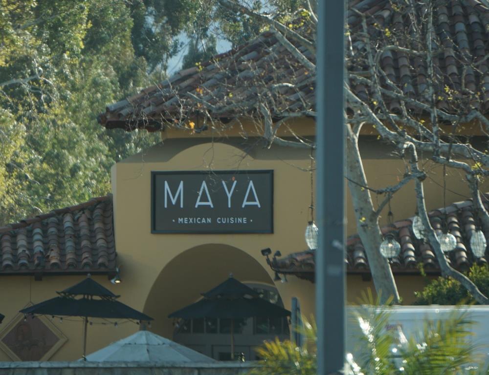 Maya when it was open.