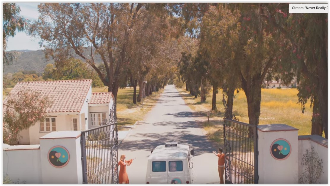 Screenshot from video shows the entrance to King Gillette Ranch in Calabasas.