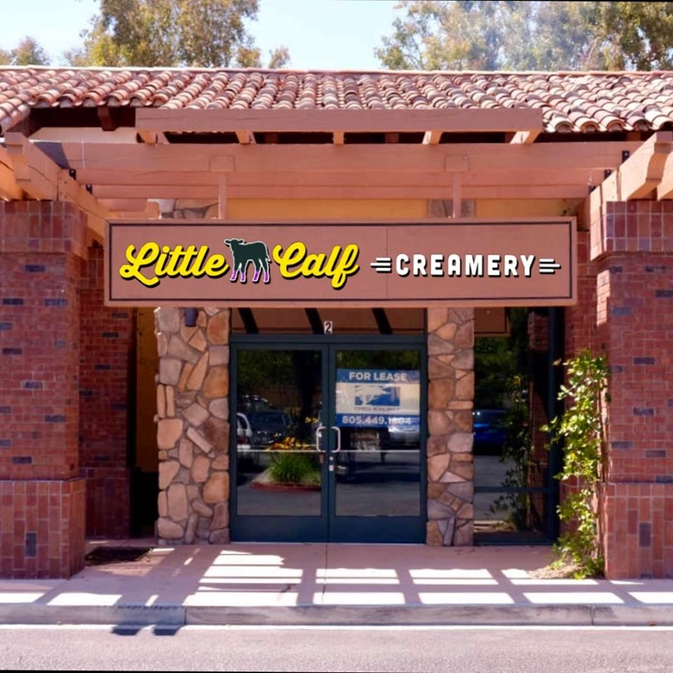 Future 2nd location of Little Calf Creamery and Cafe at the Northgate Place in Westlake Village.