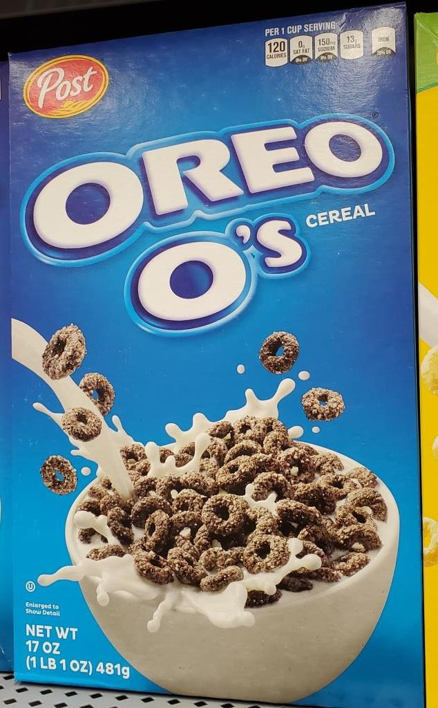 Oreo O's were originally launched in 1997 and discontinued in 2007. They were re-launched by Post Cereals in June 2017.