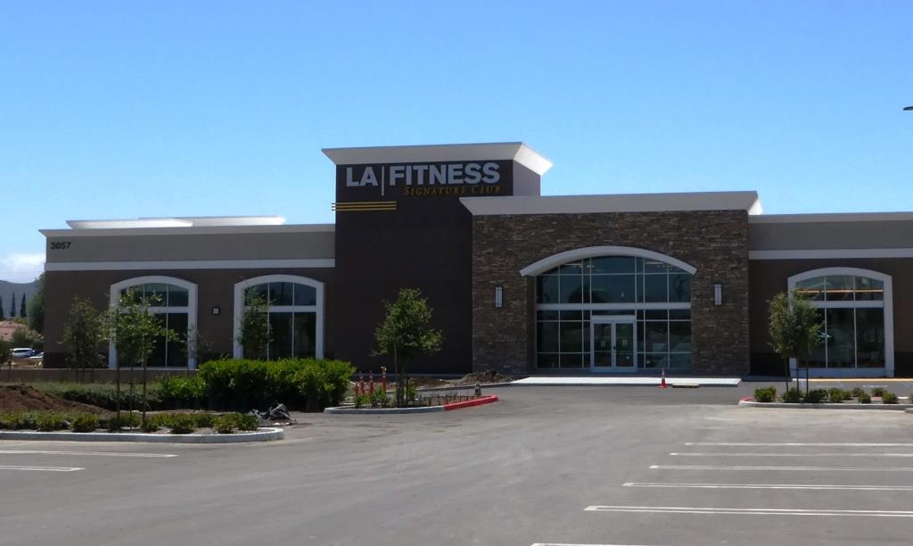 LA Fitness Newbury Park opened 4th of July weekend 2019.