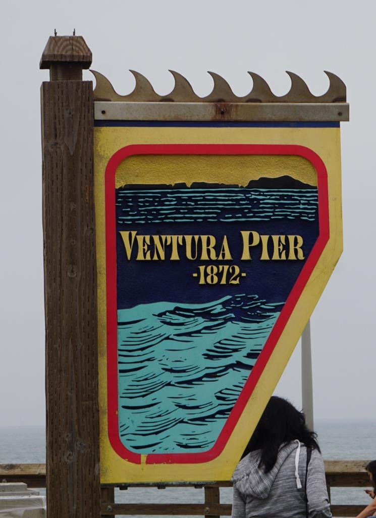 Ventura Pier Sign.JPG