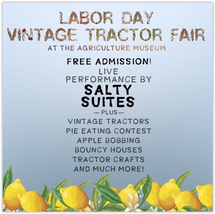 Labor Day Vintage Tractor.JPG