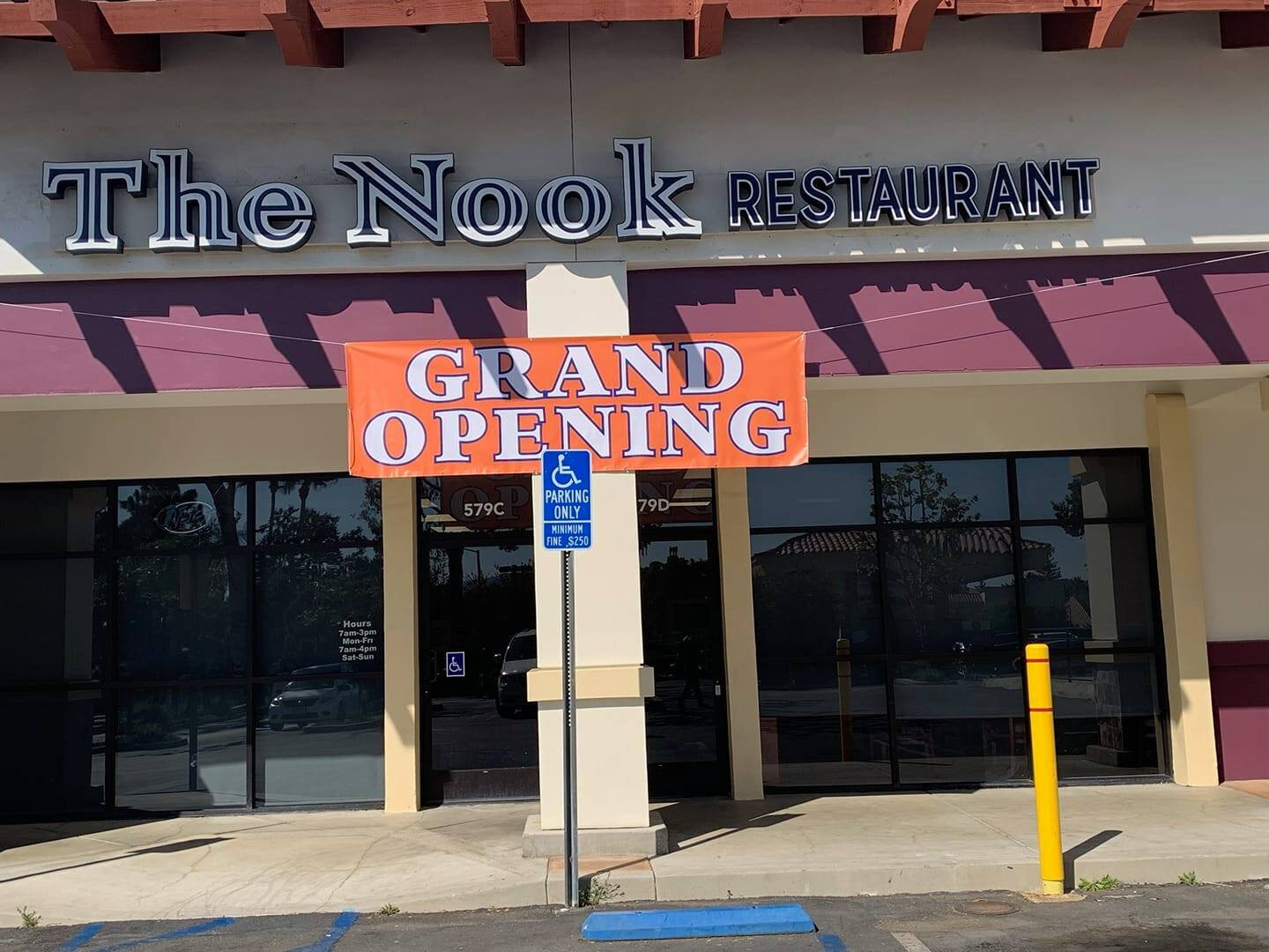 The Nook Restaurant in September 2019.