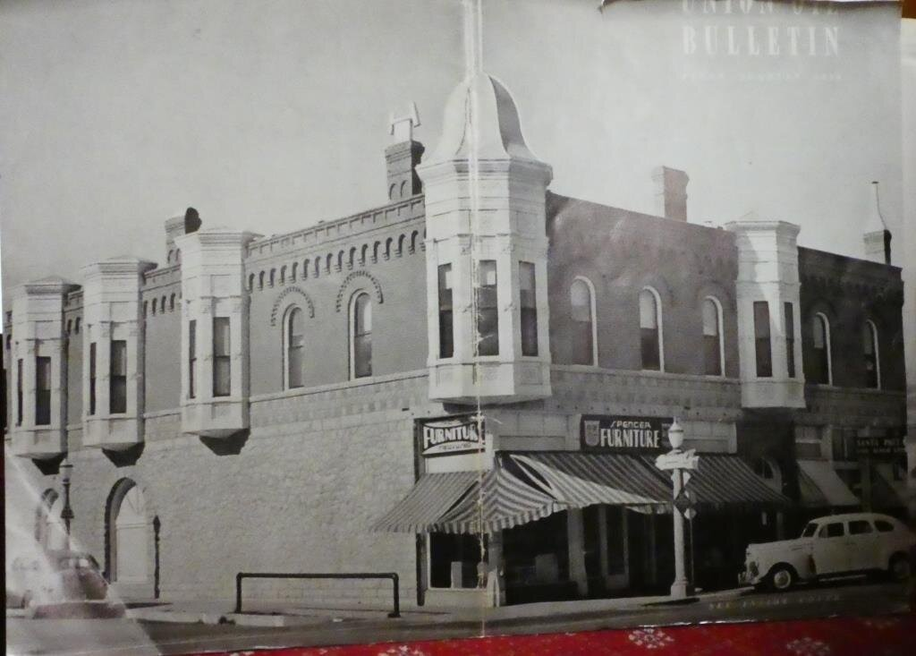 Spencer Furniture store at the historic building in I believe the 1940s.