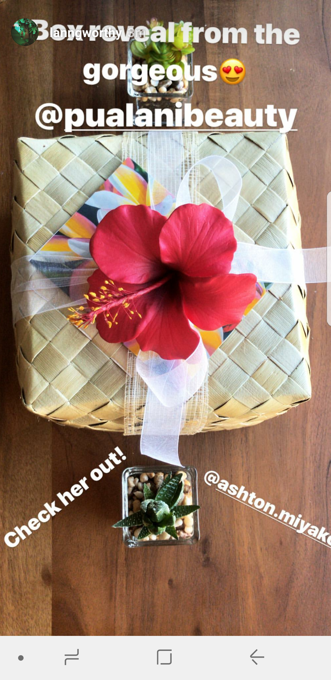 Mahalo @langworthy for the shout out, so excited to make that box for you!