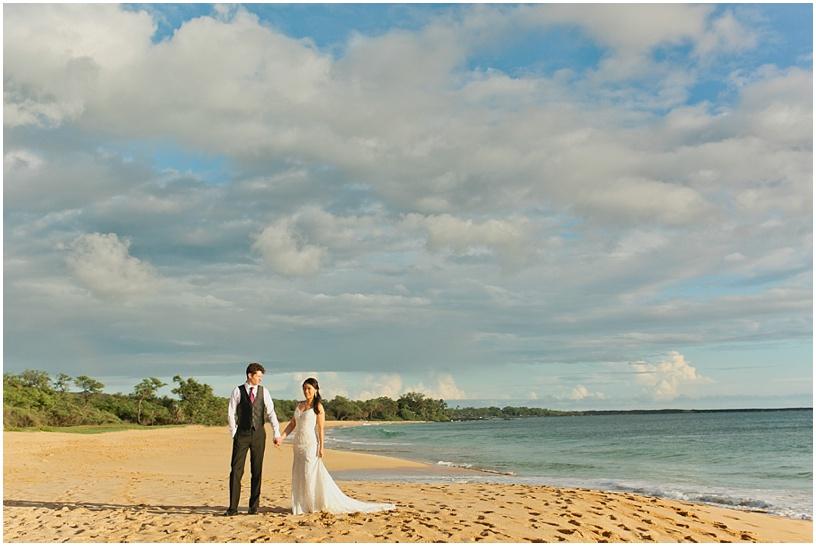 Maui Wedding photographer   Maui wedding   Little Beach