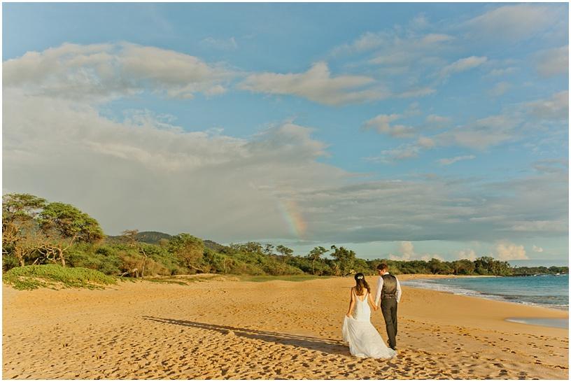 Maui Wedding photographer   Maui wedding   Little Beach   Maui Tropical Plantation