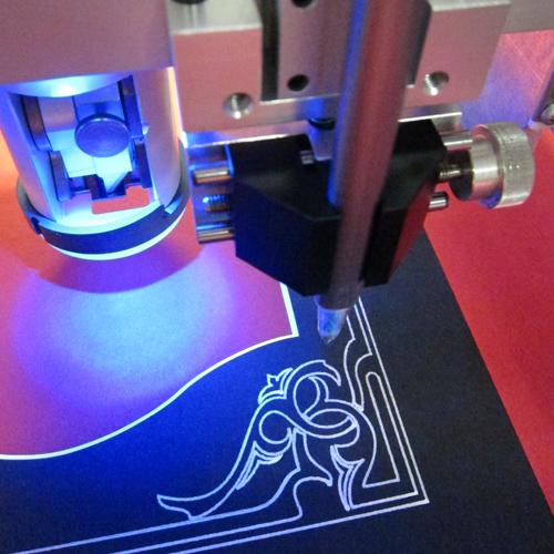 mat design - v groove