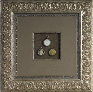 custom picture frame ideas - suede mat and fillet