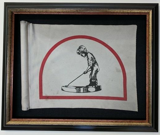 Framed Putterboy Flag