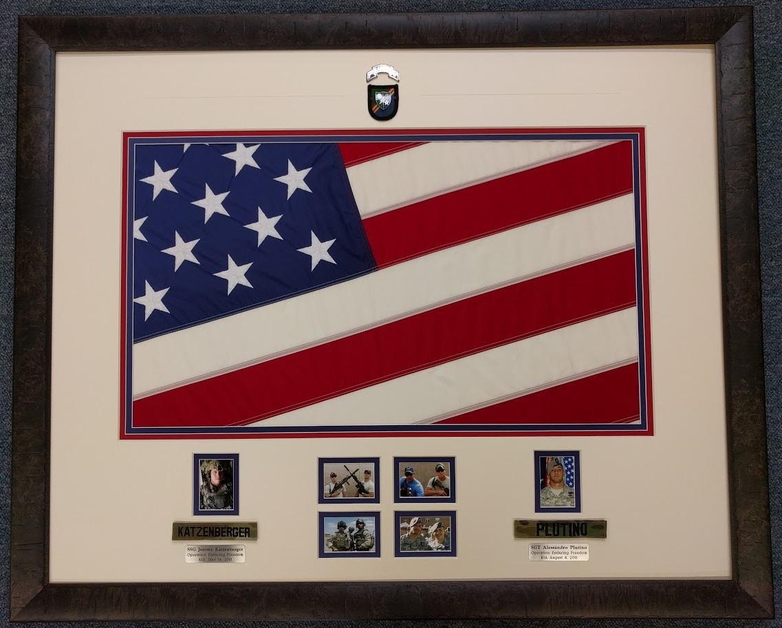 American Flag Shadowbox