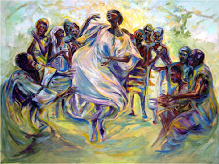Spirit Dance 36x48 oil on canvas