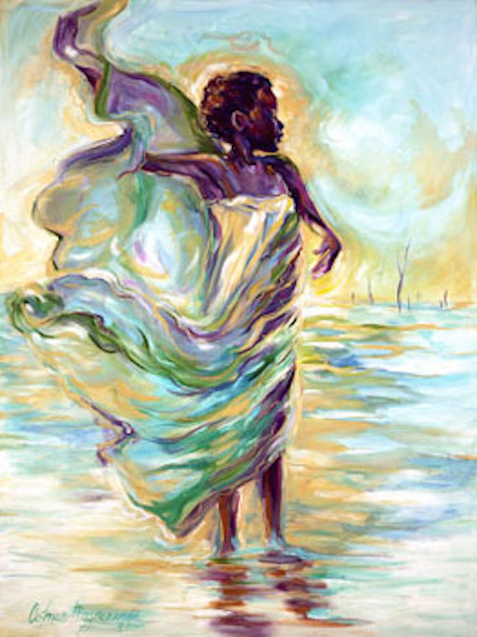 Euphoria 48x36 oil on canvas