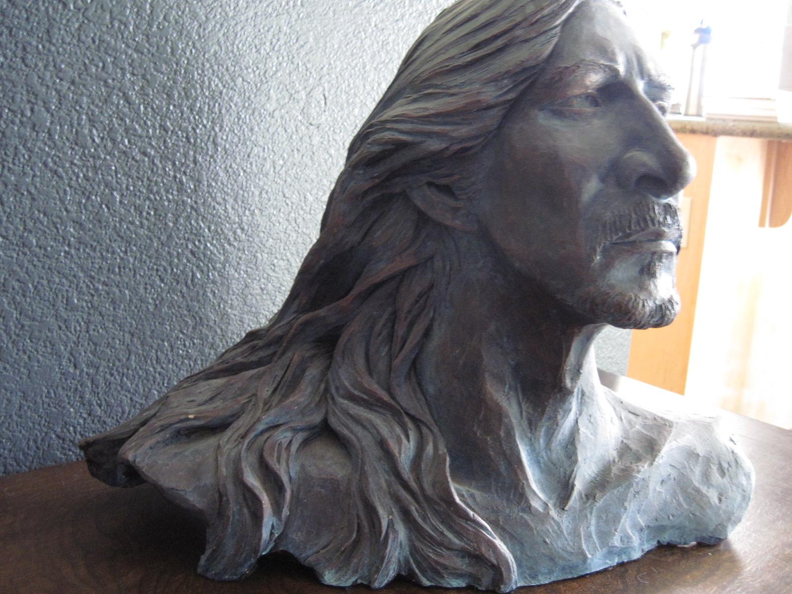 Denny, 18x18x10 clay sculpture