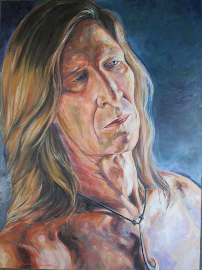 Mr. Magnusen, 48x36x3 oil on canvas