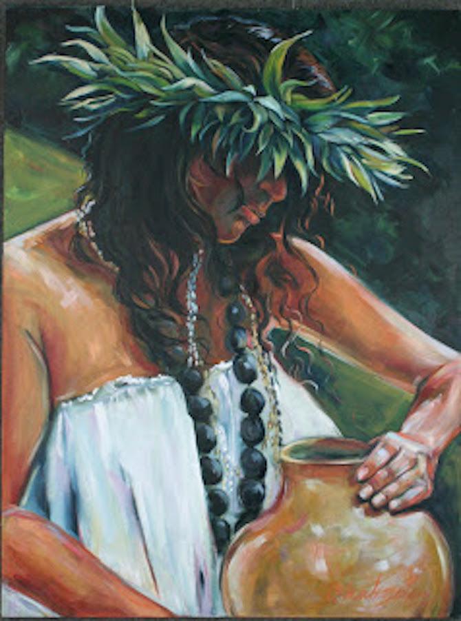 """Ipu"" 40x30x2 oil on canvas"