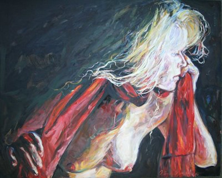 Aftermath 48x60x2 oil on canvas