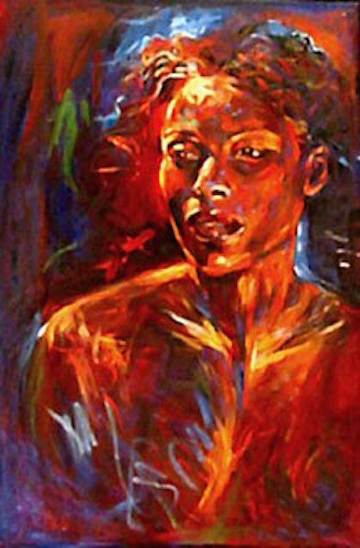 Elegance 36x24 oil on canvas
