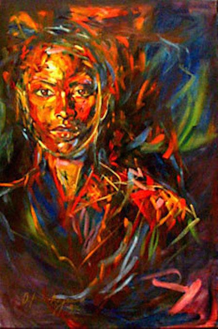 Anticipation  24x36 oil on canvas