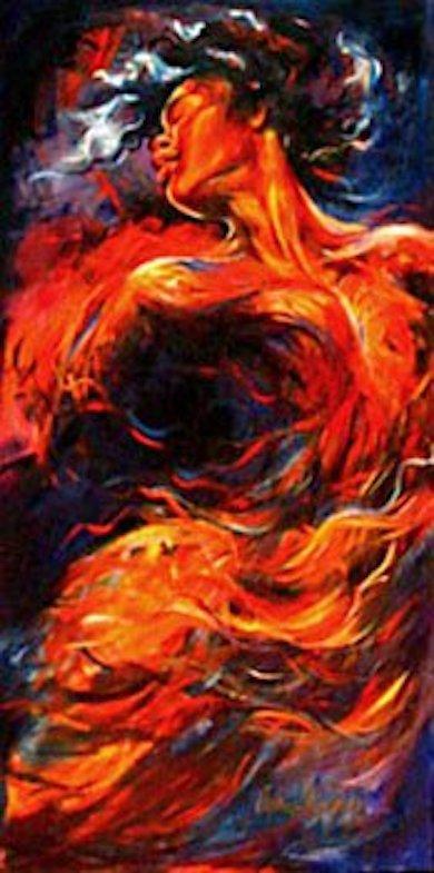 Flight At Sunrise 48x24 oil on canvas