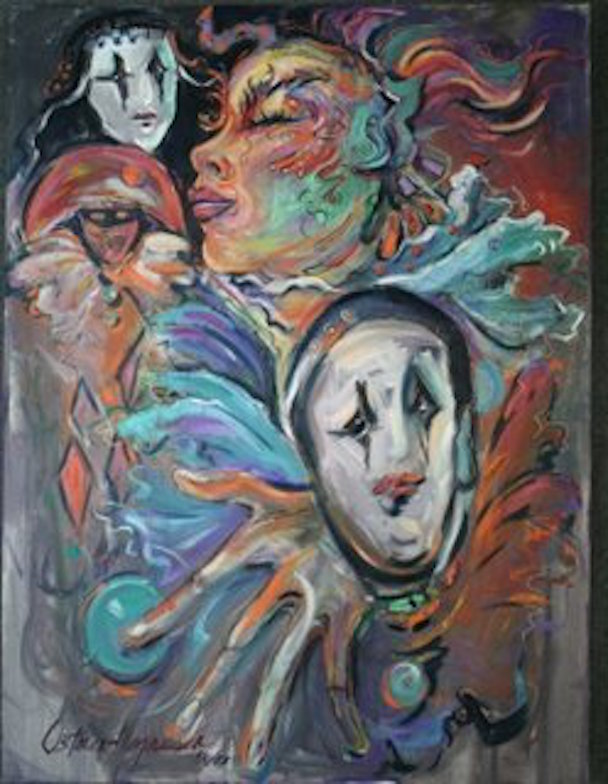 Circus, 36x24 oil on canvas