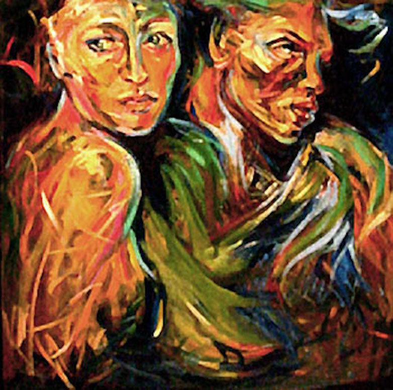 2, 36x36 oil on canvas