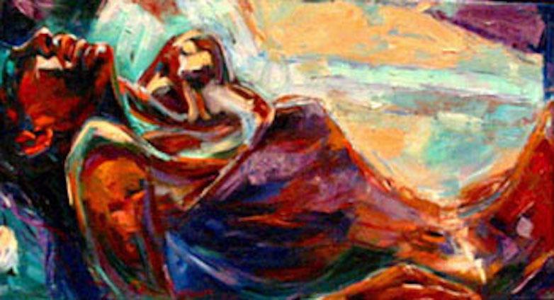 Sun-kissed, 24x48 oil on canvas