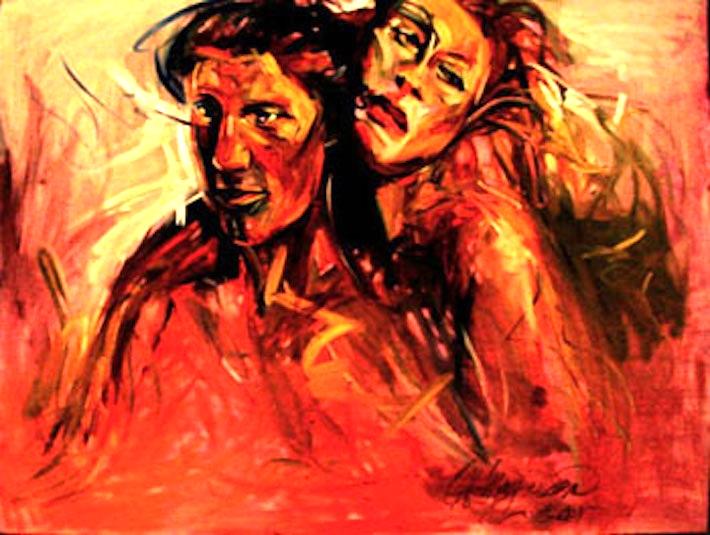 Evolution, 36x48 oil on canvas