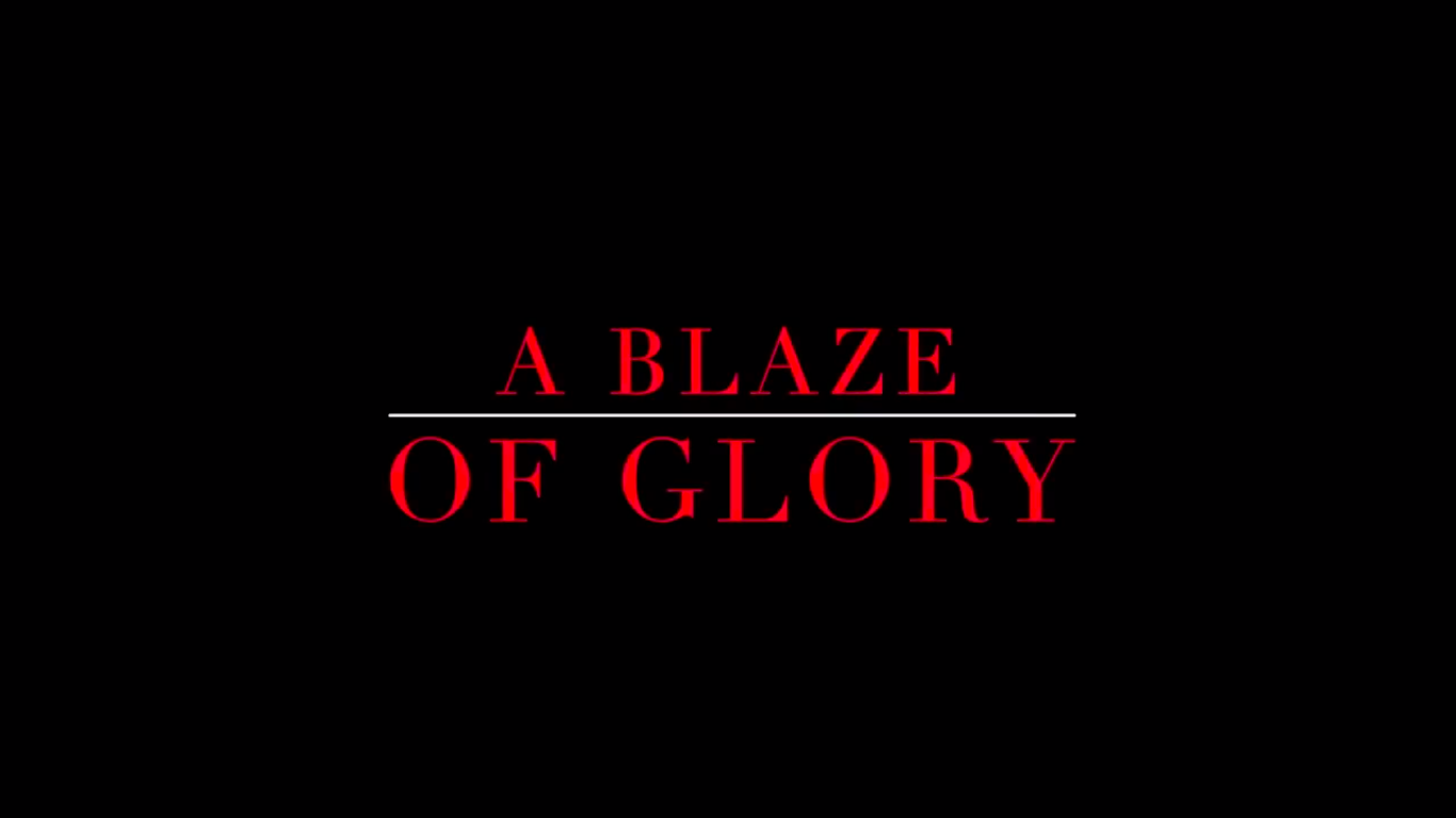A Blaze of Glory   One man's journey to the Olympics finds him headed for a collision with fate.