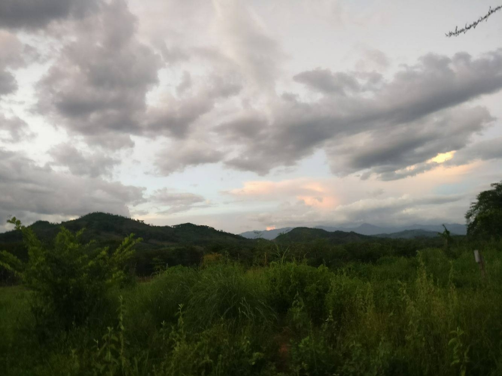 The view from the fields in Jiñocuao