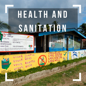 We improve health conditions and reduce risk of disease by providing access to basic sanitation and hygiene services.