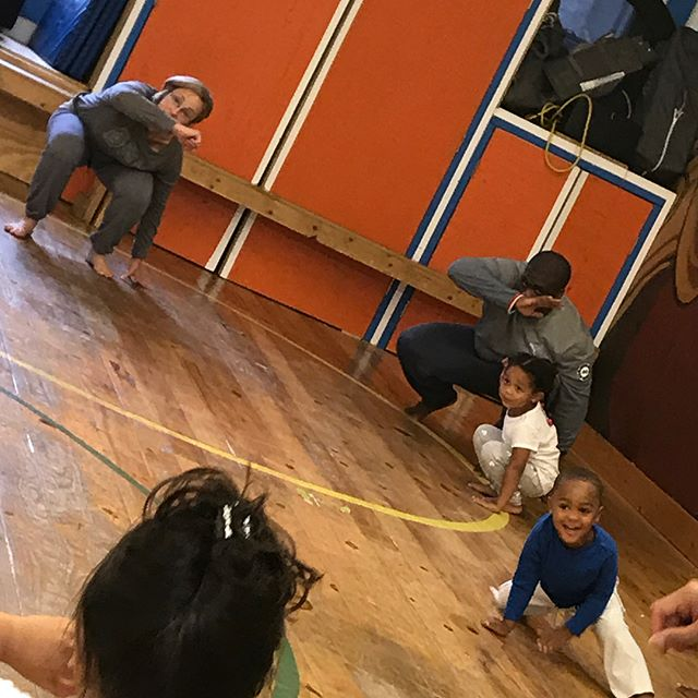 Capoeira Class with My Baby this morning . It is a great way for us to immerse ourselves in Afro-Brazilian Culture that my Wife comes from .  It is important that our Children be exposed to all that has brought them into being . 🇧🇷🇺🇸#Bahia #Hanover #SluggandIzzy #AfricansinBrazil #AfricansinAmerica #TioValneiwouldhavebeenproud