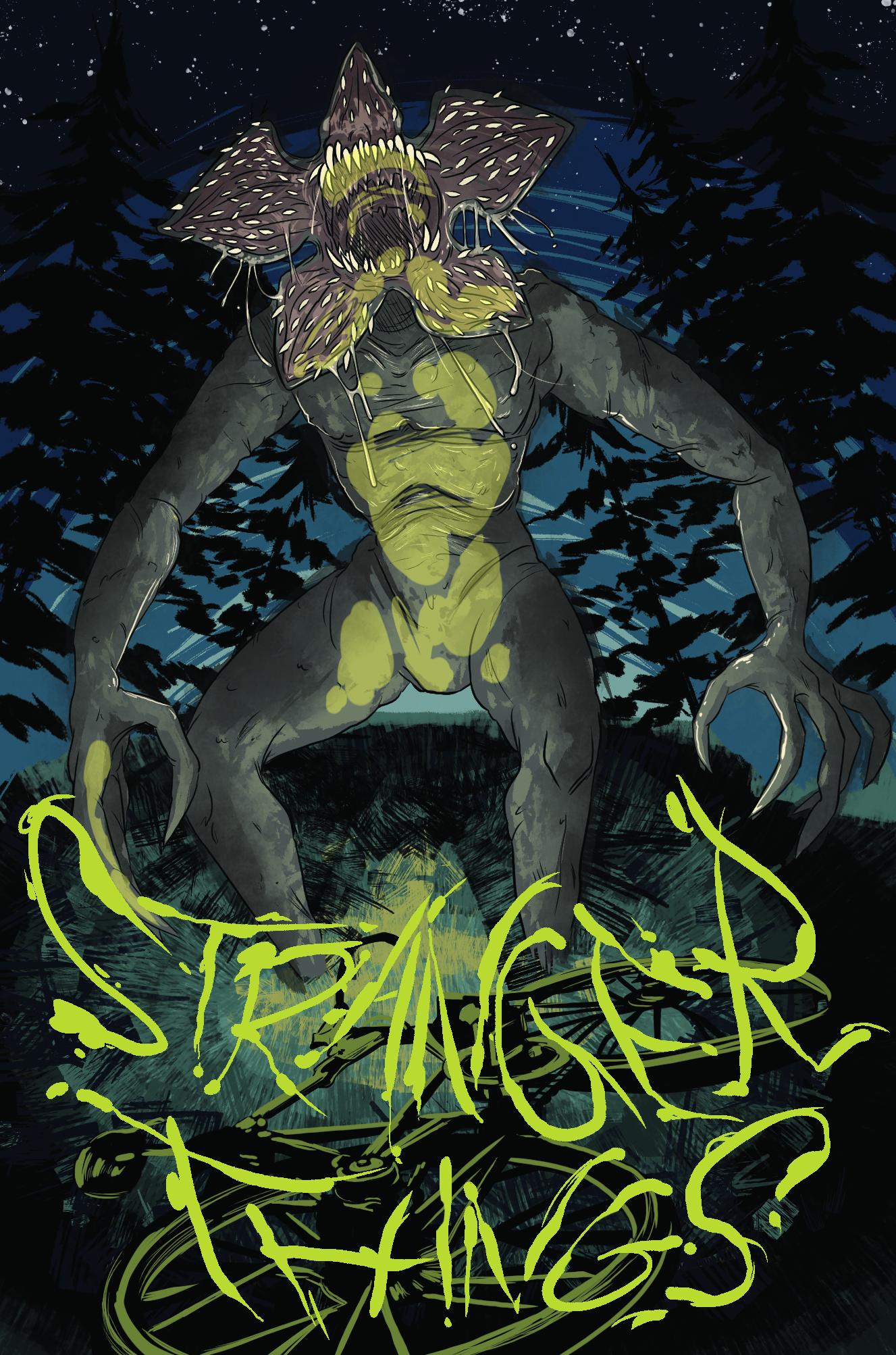 Demogorgon from Stranger Things