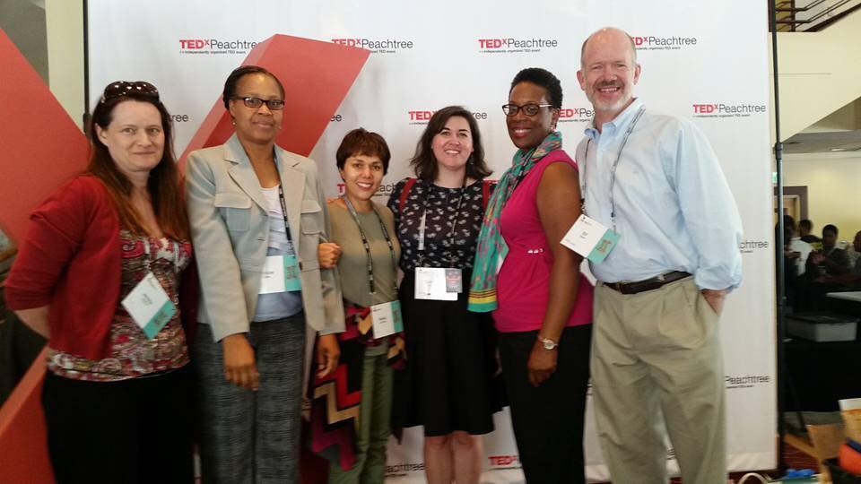 Our IPaT team at TEDx Peachtree 2016