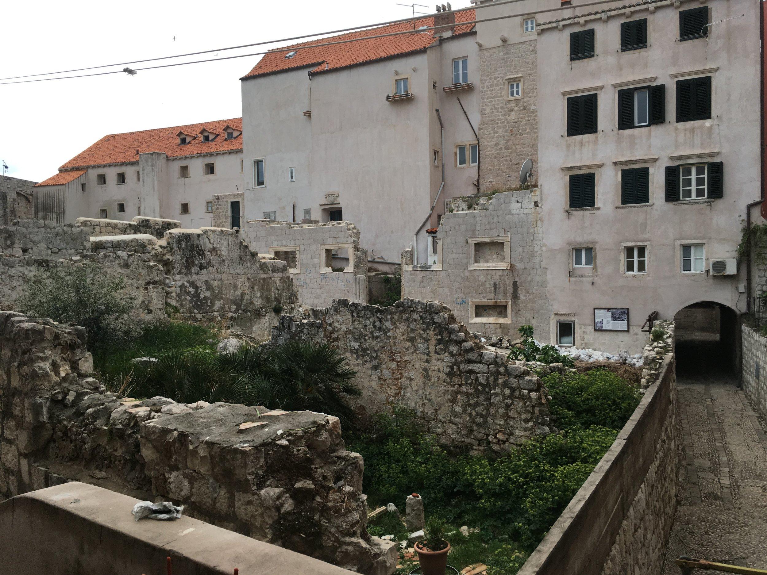 The view from Renata's front door
