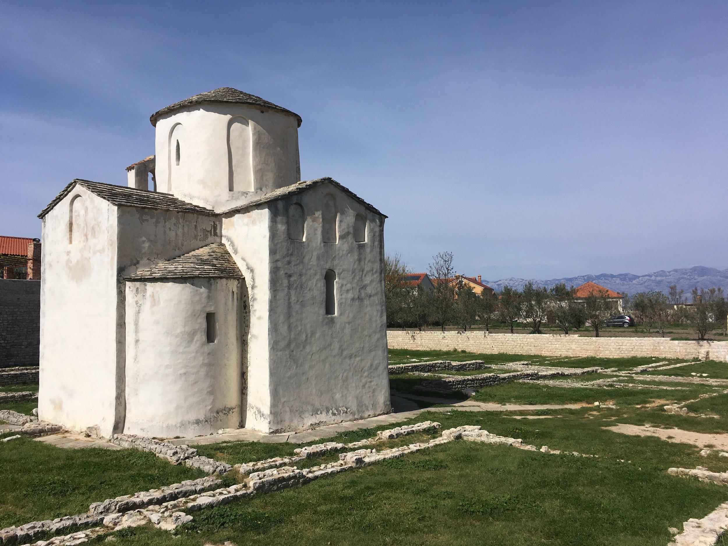 Nin's medieval church