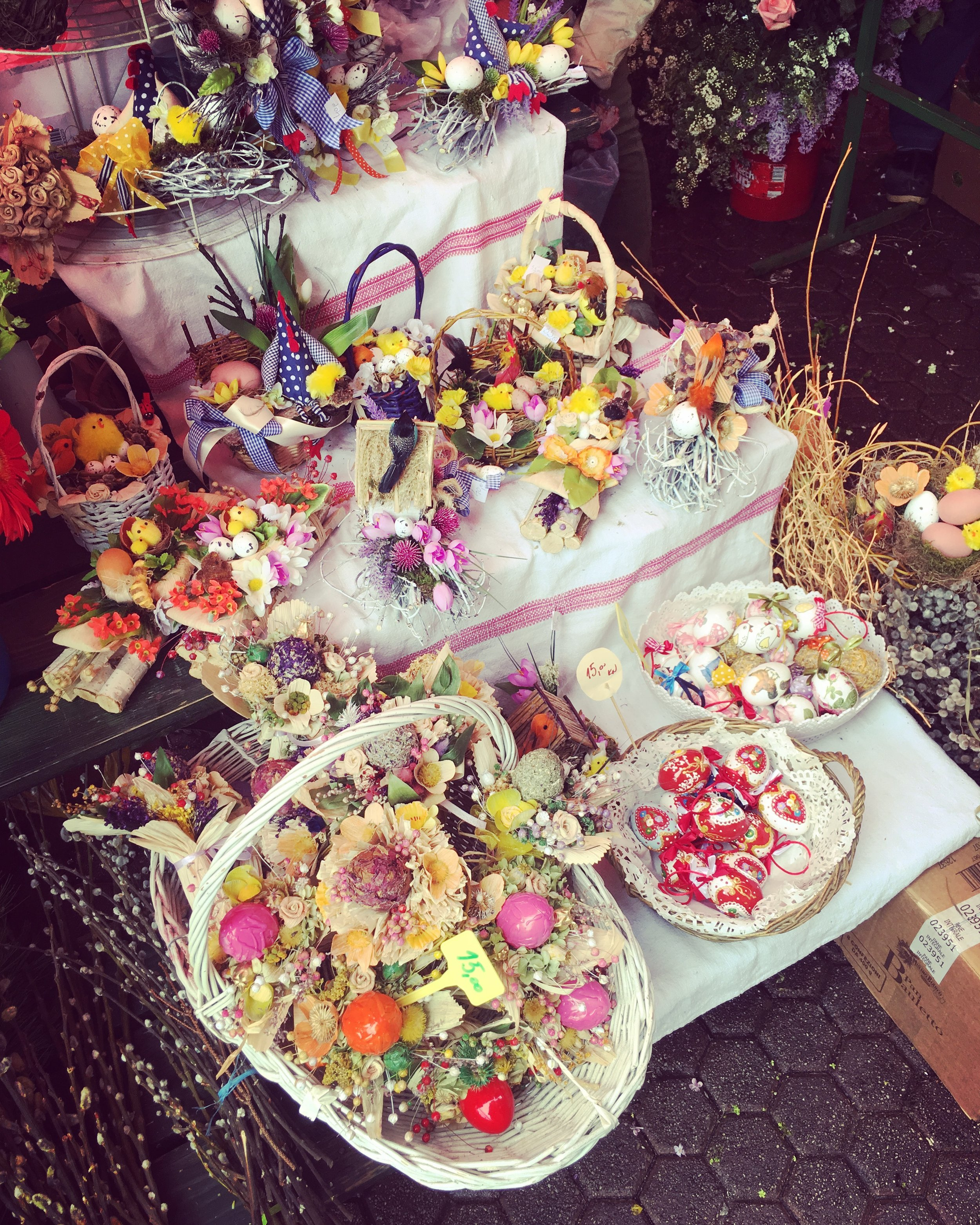 Zagreb's flower markets during Easter