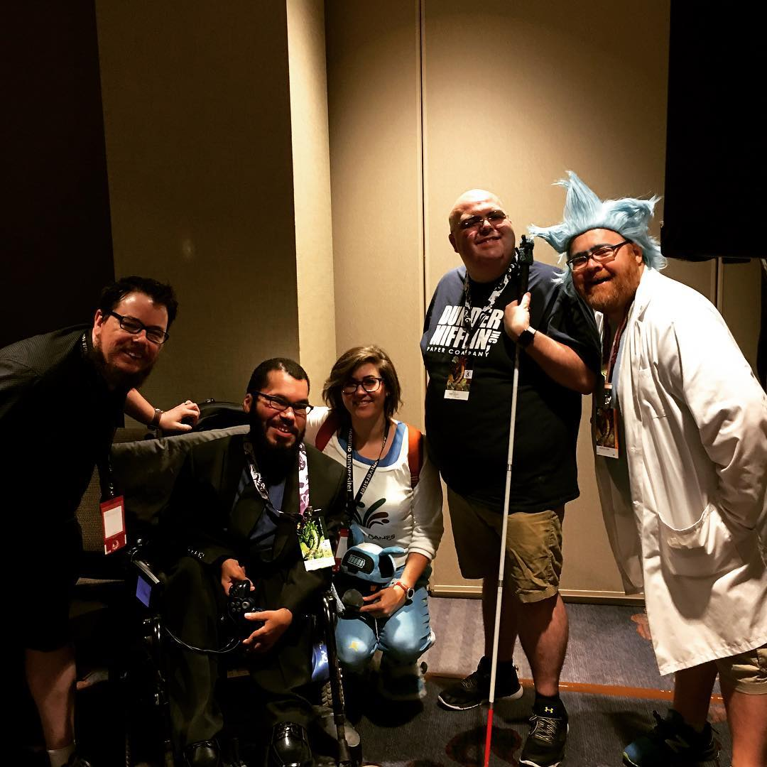 DragonCon 2018, Video Gaming Track: Panelists from the Gaming for All Accessibility panel