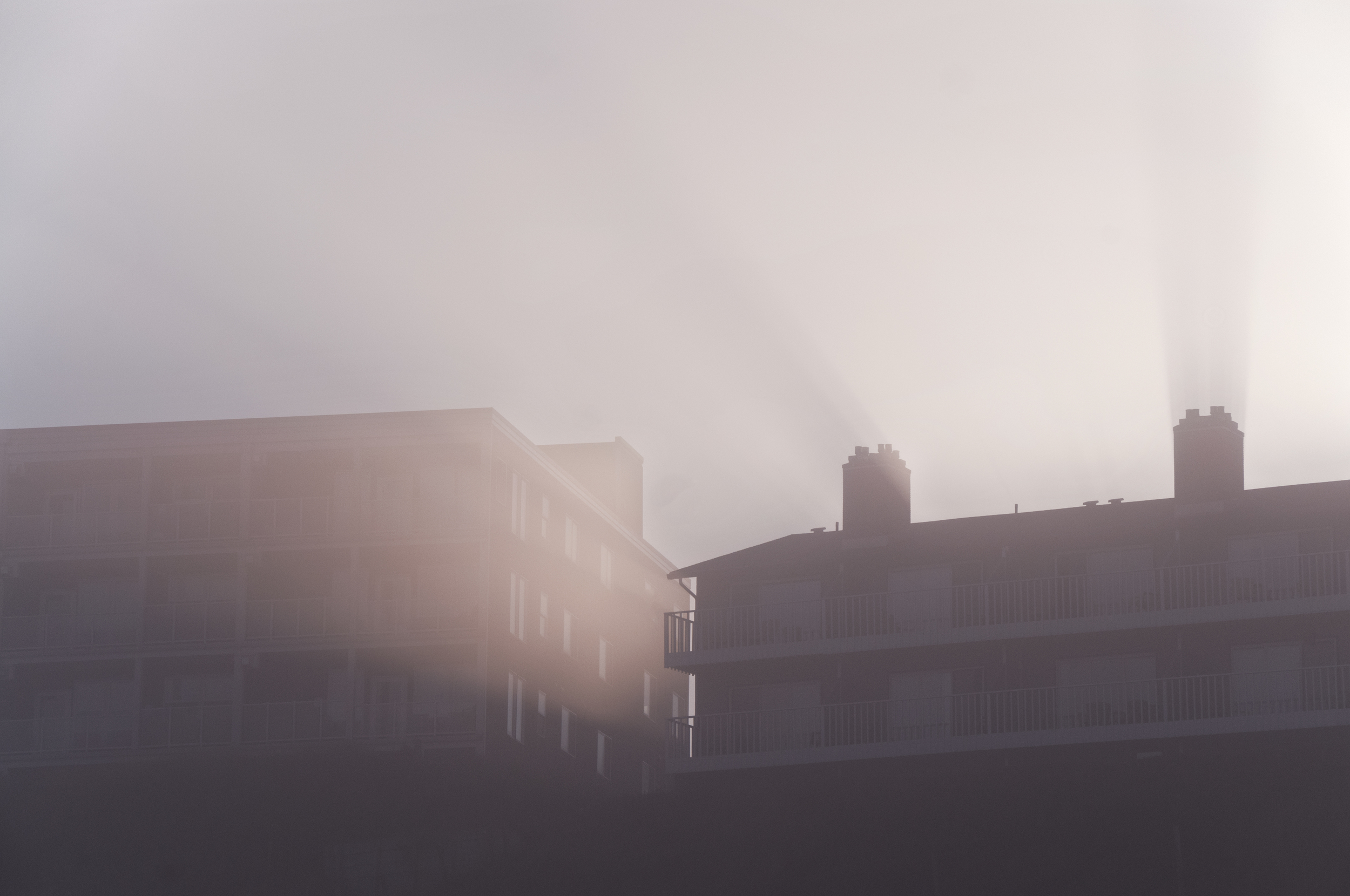 Light 'n' shadow, and that's all. (Lincoln City, Oregon; Aug 2014)