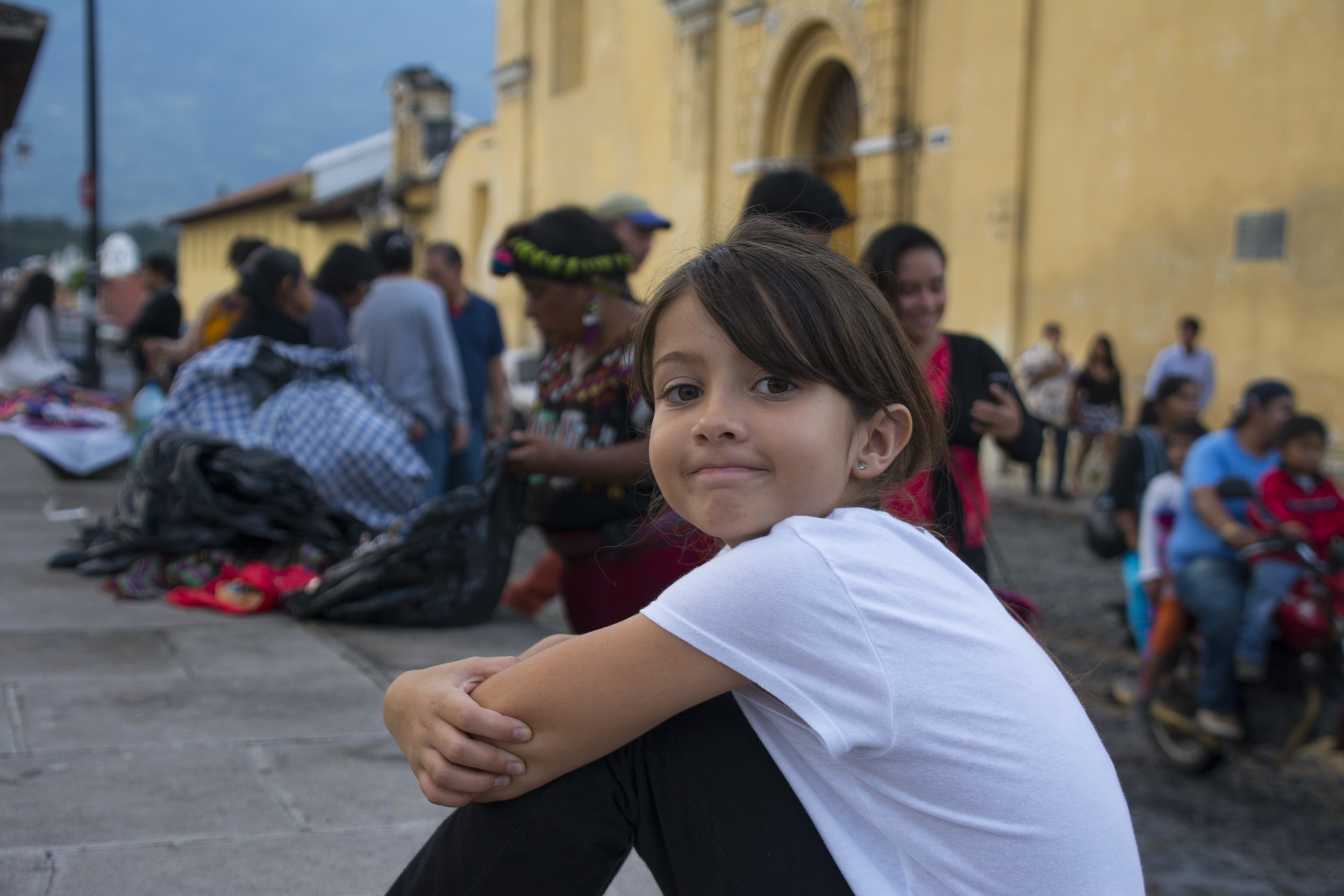I feel sorry for everyone who doesn't know this person. (Antigua, Guatemala; Sept 2016)