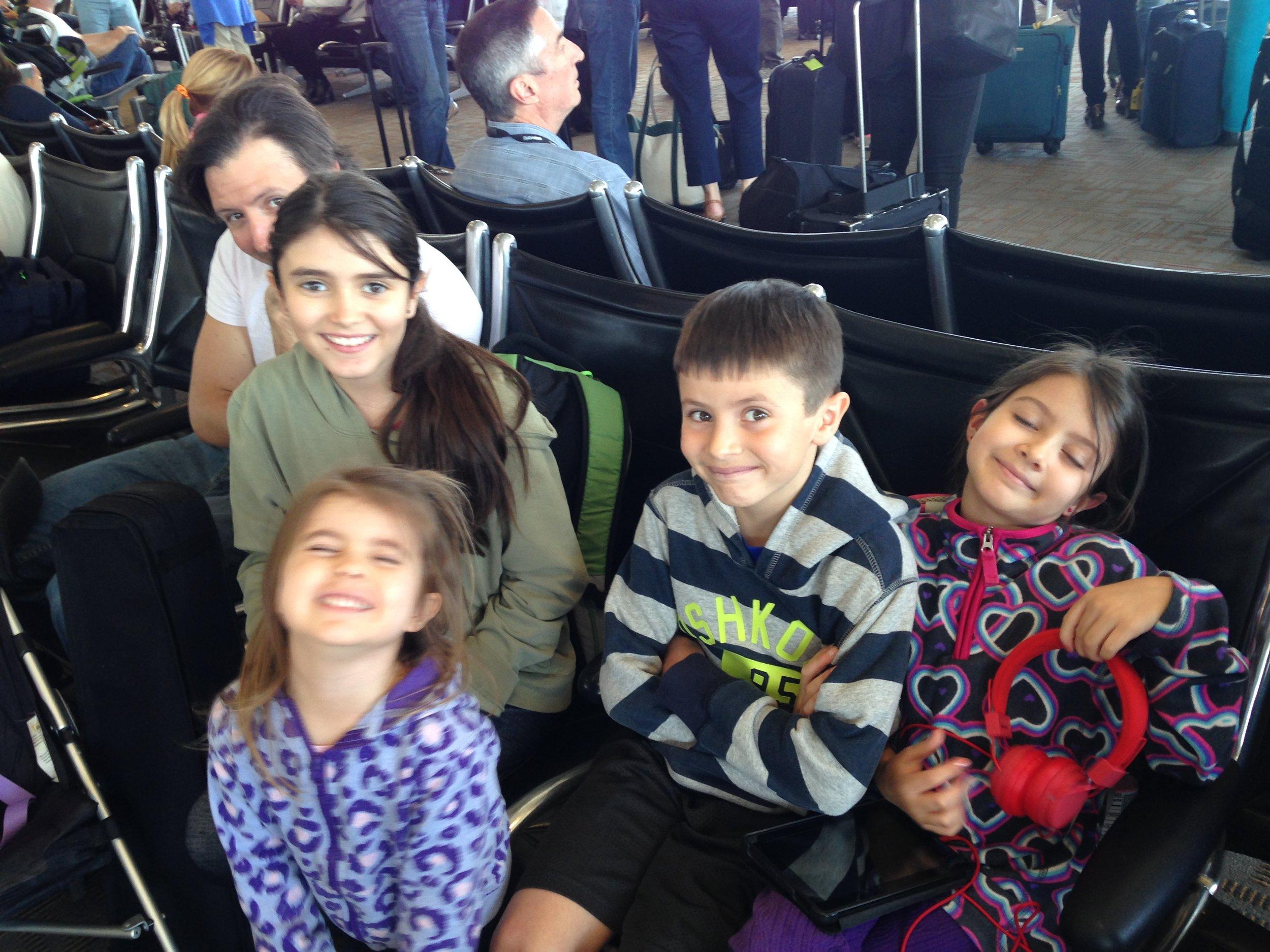 Boarding for first El Salvador flight. Back when we were in the dark. (Miami, FL; Apr 2015)