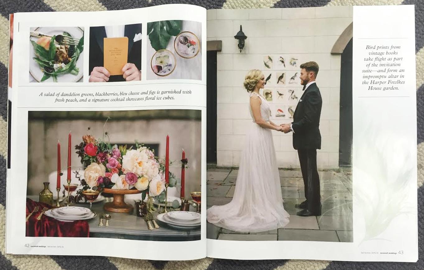 In The Press Savannah Weddings Magazine Ivory Beau