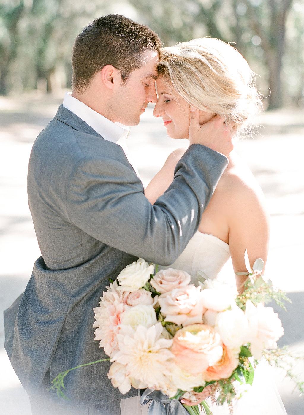 the-happy-bloom-wormsloe-wedding-savannah-wedding-ivory-and-beau-bridal-boutique-savannah-wedding-dresses-savannah-bridal-boutique-georgia-bridal-boutique-design-studio-south-sunset-wedding-blush-by-hayley-paige-candi-1550-blush-wedding-dress-2.jpg